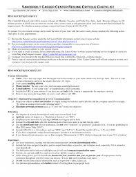 Resumesume Critique Uconn Checklist Monster Mcmaster Waterloo Reddit