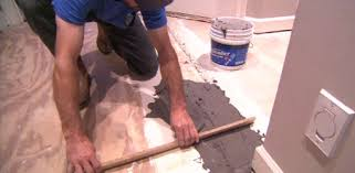 using floor patching compound to level a suloor
