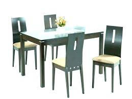 glass top dining table attractive magnificent on furniture outstanding intended for