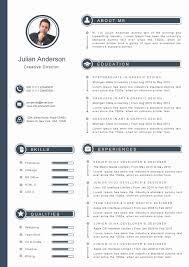 Modern Resume Sample Sevte