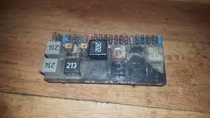 443941822a fuse box audi 80 1994 2 0l 14eur eis00027422 used fuse box audi 80 b4 1991 09 1995 01