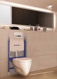 Geberit in-wall system with Sigma50 flush plate