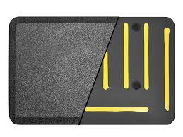 ecolast dual gripper anti fatigue standing mat