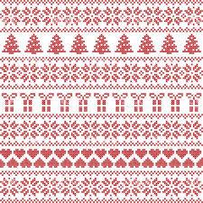 Scandinavian Style Nordic Winter Sweater Stitch Knit