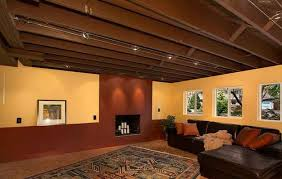 Basement Designs Ideas Unique 48 Decorating Ideas For Unfinished Basement Design And Decorating