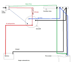 electrical wiring single solenoid trim wiring diagram johnson mercury outboard power trim solenoid single solenoid trim wiring diagram johnson evinrude tilt 95