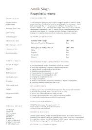 salon assistant resume examples unforgettable receptionist resume examples to stand out