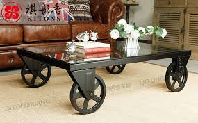 rot iron furniture. Kee Tong Xiang American Household Iron Furniture, Wrought Wheel Coffee  Table Tea A Few Small Ideas-in Coffee Tables From Furniture Rot Furniture