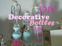 Decorative Colored Glass Bottles DIY Room Decor Decorative Glass Bottles Easy Cheap Cute 62