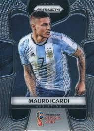 Amazon.com: 2018 Panini Prizm World Cup #8 Mauro Icardi Argentina Soccer  Card: Collectibles & Fine Art