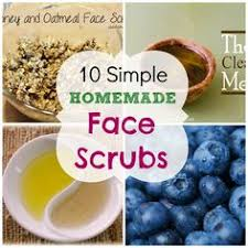 10 simple exfoliating face scrubs homemade for elle homemade scrubs face scrub homemade