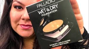 Palladio Wet Dry Foundation Review Tutorial