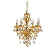 small gold chandelier good furniturenet