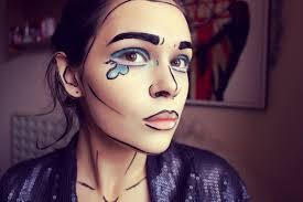 1eede42aa3a3e61b740e89eb3bed13f3 60ad0cdb55e7764967c4c34a57258960 pop art ic makeup tutorial