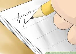 How to Conduct Academic Research  with Pictures    wikiHow Image titled Conduct Academic Research Step