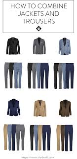 Dark Grey Pants With Light Grey Jacket How To Combine Jackets And Trousers For Your Capsule Cladwell