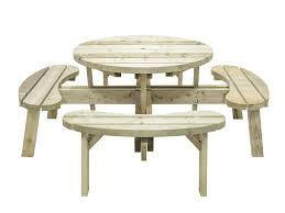 grange round garden table