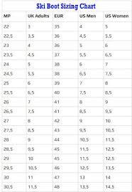 52 Explicit Fischer Ski Boots Sizing Chart