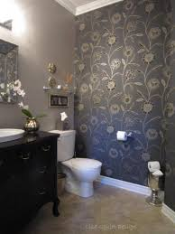 Accent Wall Bathroom Wood Accent Wall In Brick Stone Theme Brown Varnishes Cherry Wood