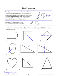 The place on a contract or other agreement where you…. Early Geometry Line Symmetry 2