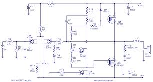 circuits gt 14 watt car audio lifier circuit schematic diagram circuits gt circuit diagram of power lifier electronic circuits