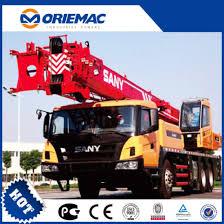 China 4 Section Sany Stc250 25 Ton Mobile Crane China
