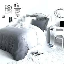 black and grey bedding contemporary within duvet cover sham set idea 1 twin bed blue sets