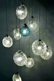 hand blown glass pendant lights new lamp melbourne