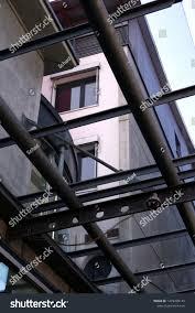 Steel Walkway Design Steel Structure Covered Walkway On New Stock Photo Edit Now