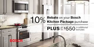 Bosch Kitchen Appliances Packages Promotion Detail Grand Appliance And Tv
