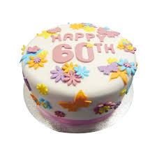 60th Birthday Cake Buy Online Free Uk Delivery New Cakes