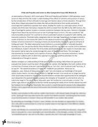 essays on pride and prejudice literary analysis essay pride and prejudice
