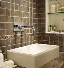 Backsplash Bathroom Ideas Gorgeous Creative Ideas For Bathroom Backsplashes