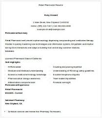 Retail Pharmacist Resume Pharmacy Manager Resume If You Are