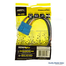 metra turbowires 70 1721 wiring harness for 1998 2007 acura and metra 40 1721 car stereo wire harness for honda and acura product packaging