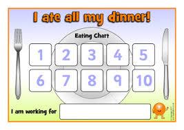 Fussy Eater Sticker Reward Charts Sb12223 Sparklebox