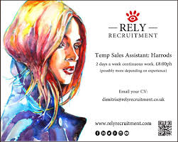 chinese archives page of rely recruitment temp s assistant for harrods concession 2 days a week continuous work pound