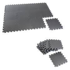 superlock heavy duty interlocking rubber flooring 6 pieces hayneedle
