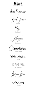 Calligraphy Fonts Wedding Invitations Image Collections Party