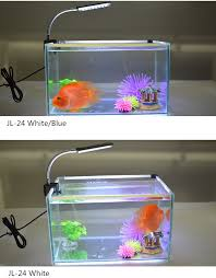 Chinese Best Selling 9 4cm Aquarium Led Clip Light For 30 50cm Glass Fish Bowl View Glass Fish Bowl Gako Product Details From Shenzhen Guanke