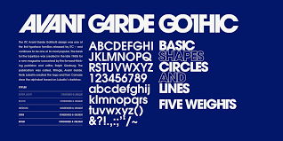 Avant Garde Gothic Light Itc Avant Garde Gothic Download For Free And Install For