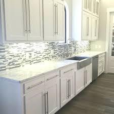 kitchen backsplash white cabinets. Backsplash In Kitchen Glass And Mosaic Tile White Cabinets Around Window W