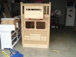 diy fire truck bunk bed the per