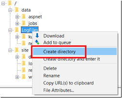 How To Create A Directory How To Manually Create A Directory On Your Azure App Service