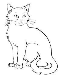 Cat Coloring Pages Online Kitty Cat Coloring Pages Printable Kitty