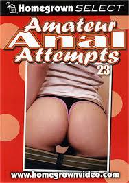 Amateur anal attempts 23 dvd