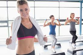 Image result for female working out a gym