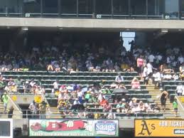 O Co Coliseum Seating Chart Baseball Oakland Athletics Seating Guide Ringcentral Coliseum