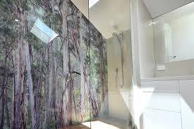 vanity glass panels for walls of bathroom wall panels toughened bathroom wall vivant