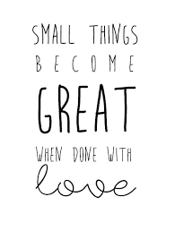 Small Things Quote Gorgeous Beautiful Small Quotes